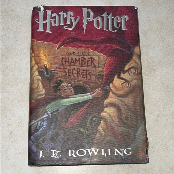 Harry Potter and the Chamber of Secrets hardcover